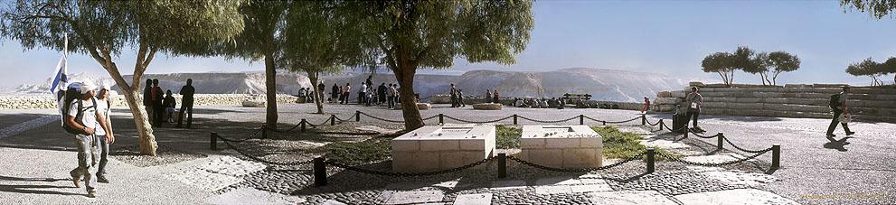 0026 Sde Boker Ben Gurion Grave