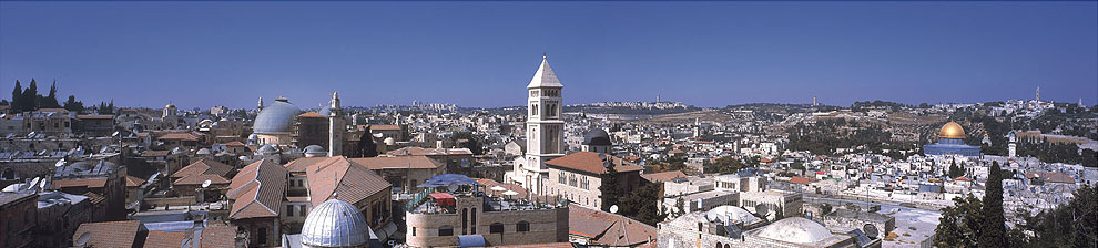 0032 Roof Tops of Jerusalem