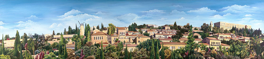 0053 Painting on a PictureYemin moshe_large