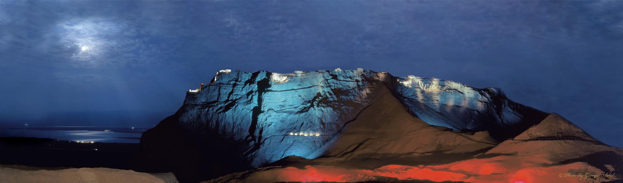 008 Massada Light Show