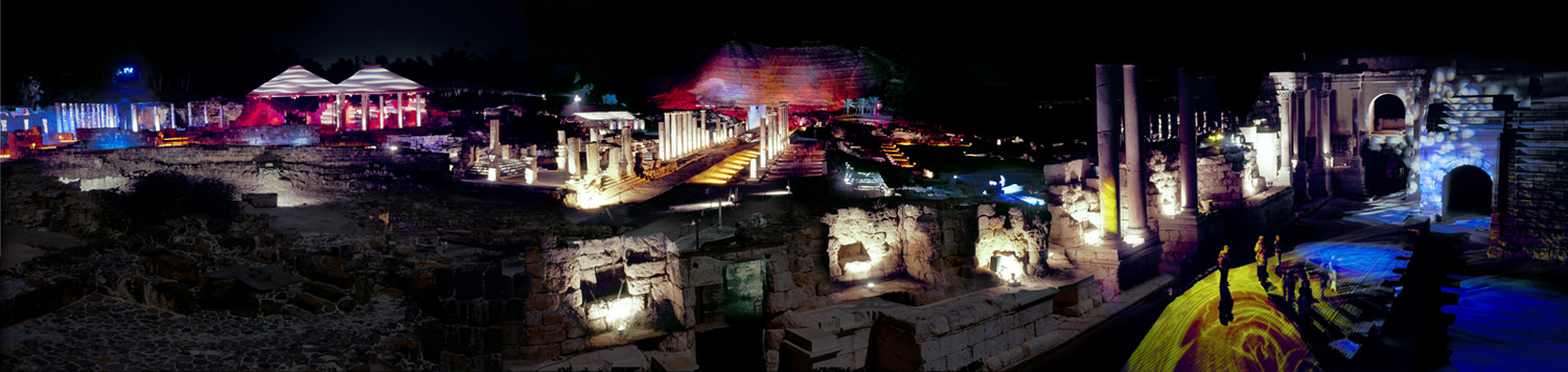 0012_Beit Shean Light Show_1